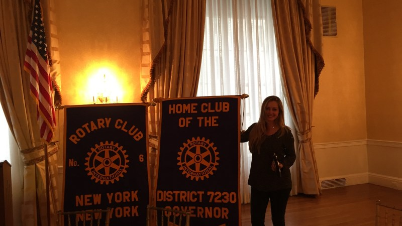 Lunch with The Rotary Club of New York