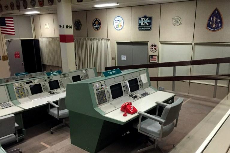 NASA's Johnson Space Centre Mission Control