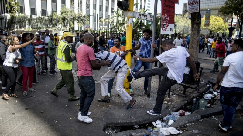 Emmanuel Sithole + South Africa's Reaction To Xenophobia