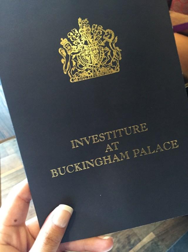 Royal Investiture Program