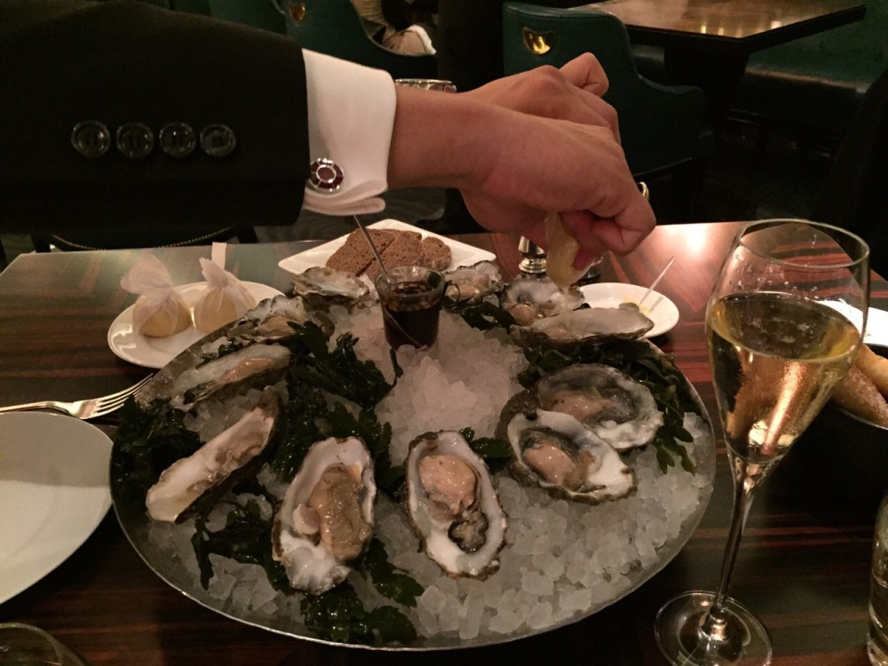 Oysters at