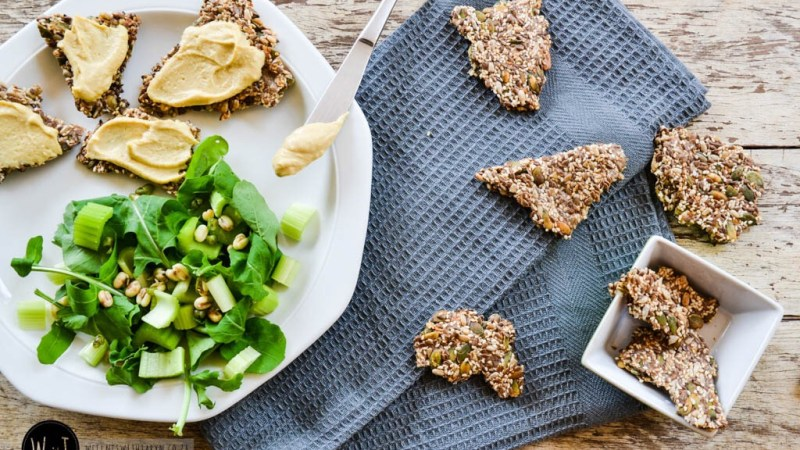 Eat South Africa: Banting Seed Crackers