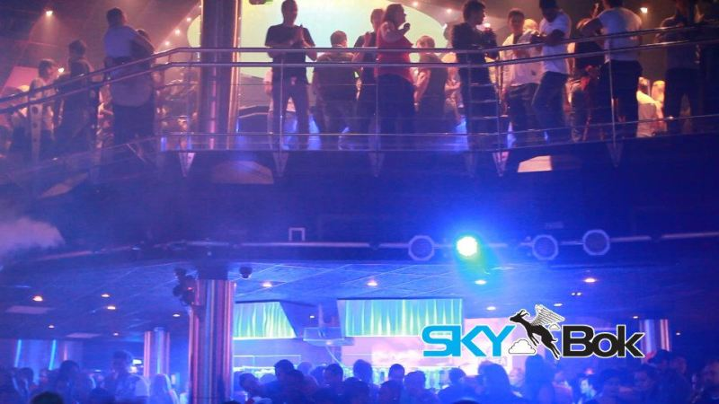 A Typical Nightclub in South Africa