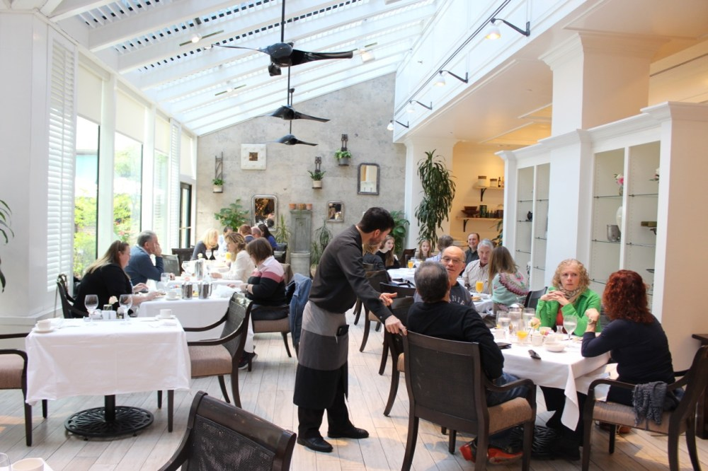 The Palmetto Cafe at The Belmond Charleston Place