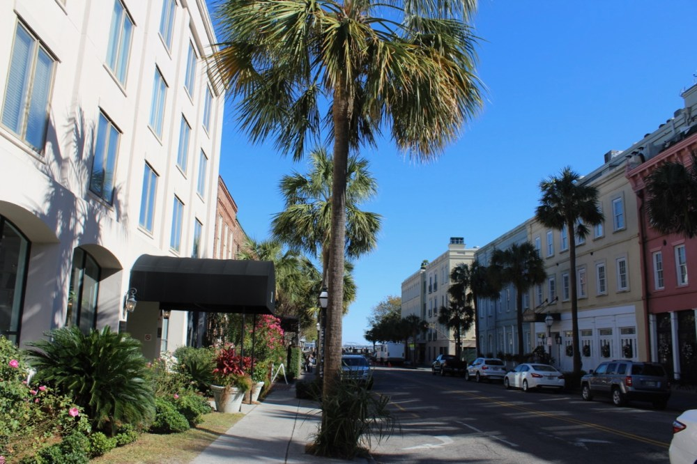 Street scene Charleston South Carolina