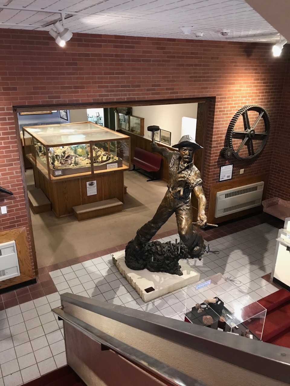 The entrance to the National Mining Hall of Fame