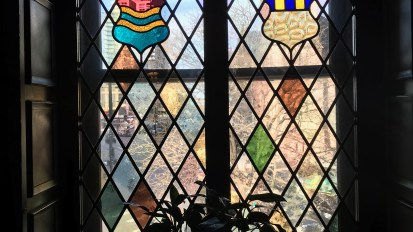 Stained glass windows in Denver