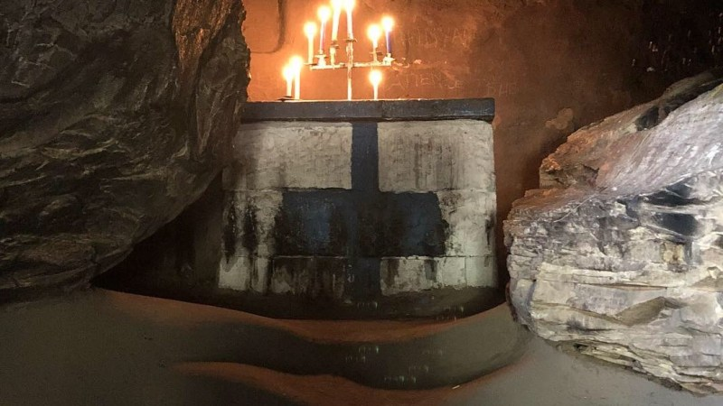 Visiting An African Prophetess' Cave