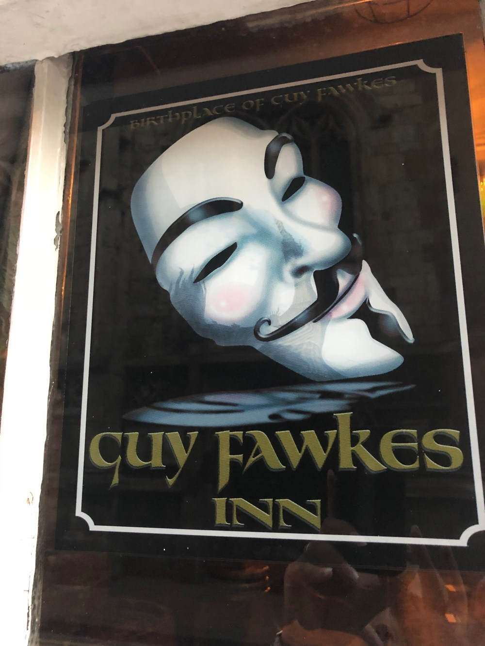 Guy Fawkes Inn, York, England