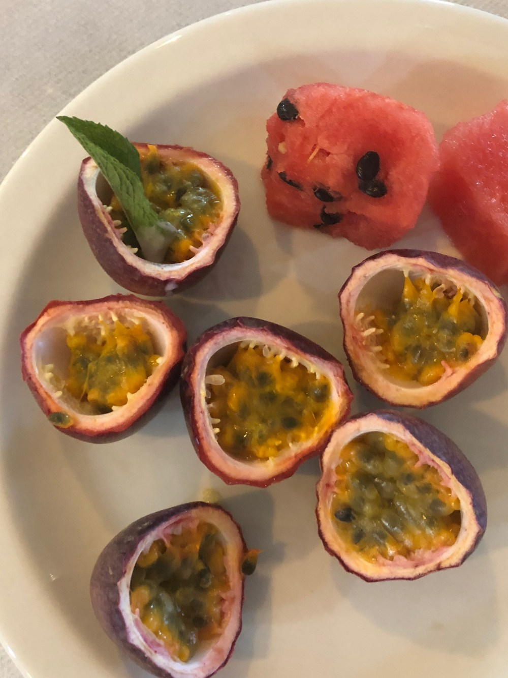 Lesotho food granadilla