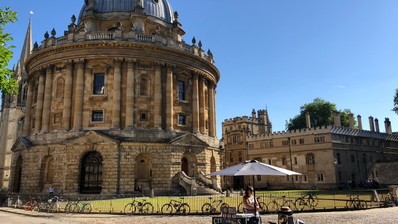 A Sunny Day in Oxford