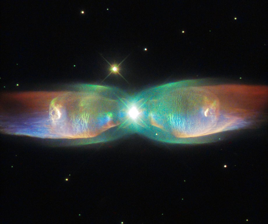 The Twin Jet Nebula, or PN M2-9