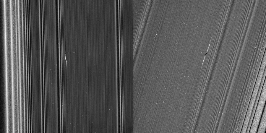 Propeller in Saturn's A Ring