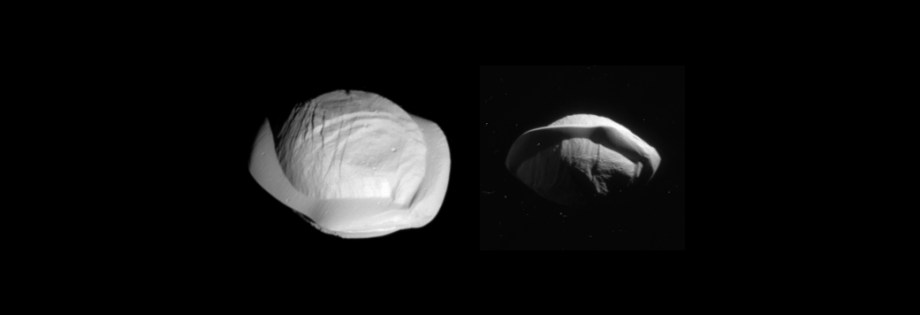 Saturn's ravioli moon, Pan