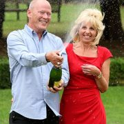 £101m EuroMillions winners are at war with neighbours over 'intrusive' CCTV at their home