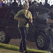 Kyle Rittenhouse, 17, (above) has been charged as an adult with two counts of first-degree homicide and one count of attempted homicide following the shootings on the third night of protests in Kenosha, Wisconsin in the wake of the police shooting of Jacob Blake
