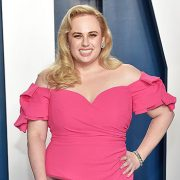 Rebel Wilson Stuns In Pink Gown & 'Treats' Herself To Cake After Revealing She's Now Lost 50 Lbs.
