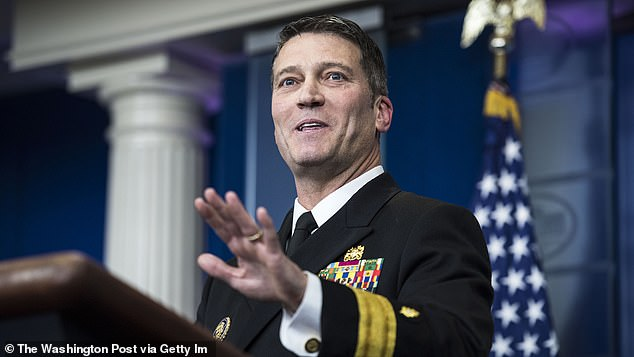 Dr. Ronny Jackson called Trump in 'very good health' in 2019