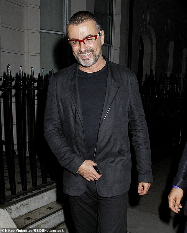 George, who died on Christmas Day in 2016 at the age of 53, did not leave any money to Goss in his will but did reportedly pay him a generous monthly allowance before their split in 2011 Pictured: George in 2012