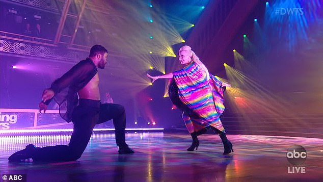 Much respect:Anne also garnered a great deal of respect for her moving paso doble to Katy Perry's Rise