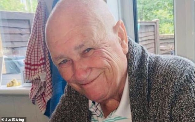 Alan Wright died from a heart attack in September and his funeral service was held atCrownhill Crematorium in Milton Keynes on 2nd October