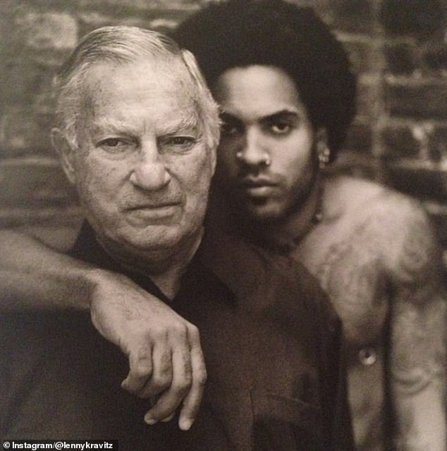 Kravitz's father hit Kravitz with the words that would 'haunt me for the rest of my life: 'You'll do it too'