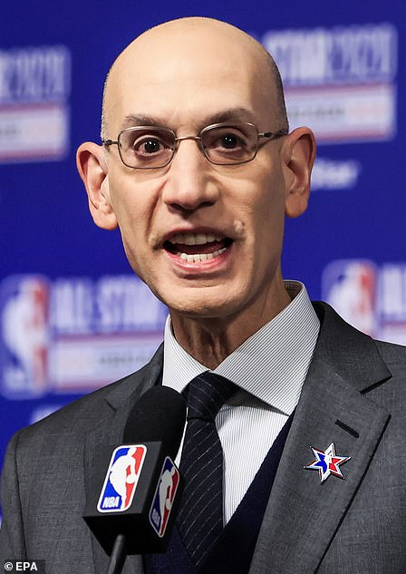 The league didn't apologized for Morey's tweet, but commissioner Adam Silver (pictured) was criticized for his alleged kowtowing to China, a $4 billion market for the NBA