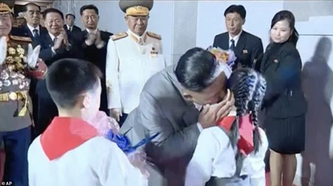 Analysts said the speech was a display of the mounting pressure on his regime as Kim discussed the three hardships afflicting his people, Covid-19, international sanctions and natural disasters