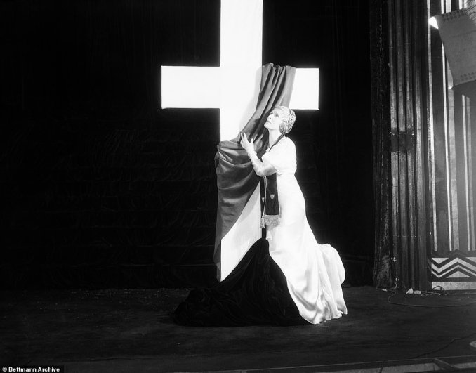 Aimee Semple McPherson adapted the techniques of vaudeville and the theater to evangelism, using costumes, lighting, scenery, props, massive orchestras, brass bands, huge choirs, and biblical dramatizations to achieve an unforgettable emotional impact during her sermons