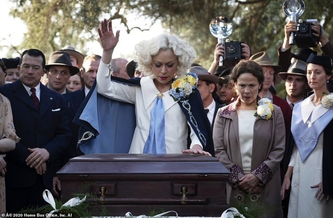 Tatiana Maslany's role as 'Sister Alice' in the HBO reboot of Perry Mason is based on Sister Aimee Semple McPherson, a celebrity preacher in the 1920s who performed miracle 'healings', spoke in tongues and delivered powerful, theatrical sermons across the United States