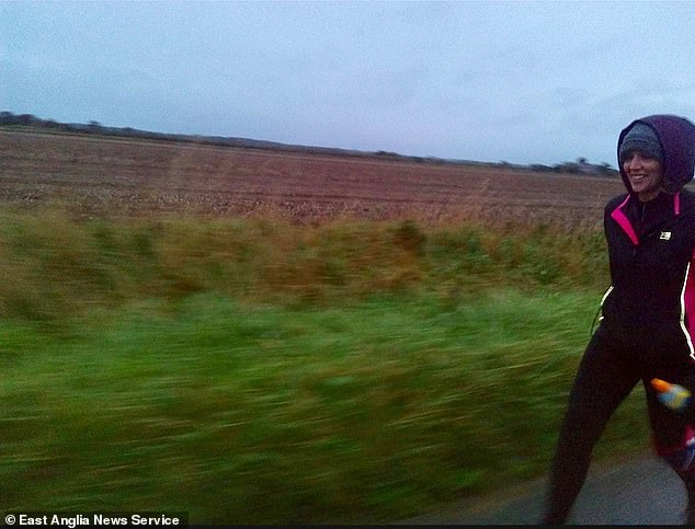 The five-time marathon runner set off in the rain at 4.45am on October 4, expecting to be back in time for lunch