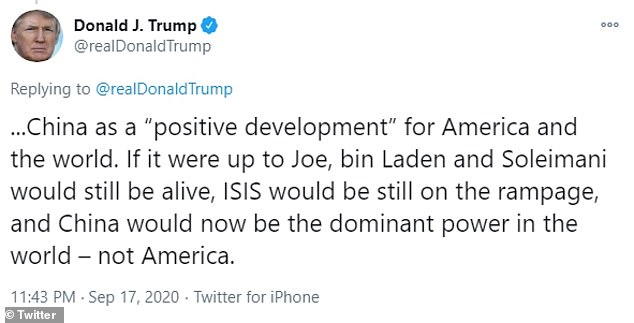 Trump has previously slammed Biden over his alleged reluctance over the raid