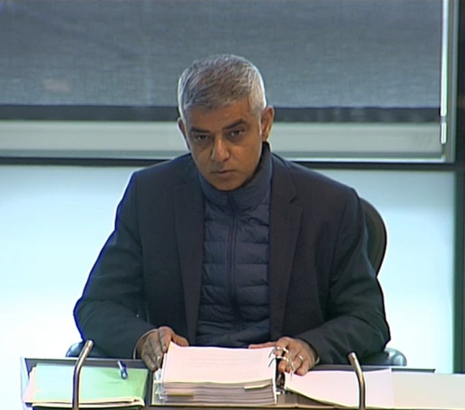 Sadiq Khanwarned this morning that Londoners face a 'difficult winter ahead'