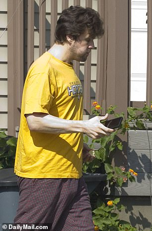 DailyMail.com tracked Clark down this week at his parents' house where he has been lying low since he was arrested for obscenity on September 30 and booted from his rectory