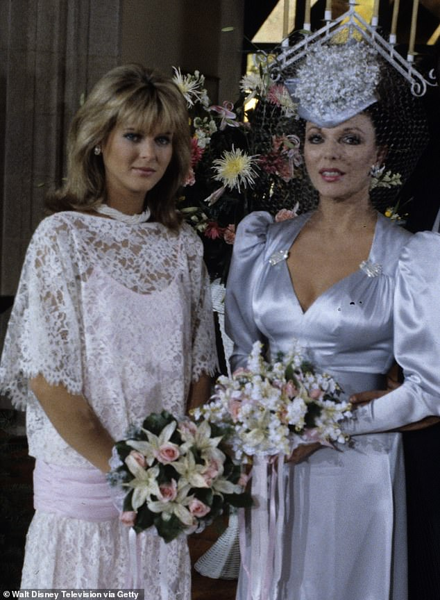 Catherine Oxenberg (pictured as Joan Collins' daughter in Dynasty) learned from a Nxivm defector about her daughter's horrifying existence in April 2017, but India refused to quit