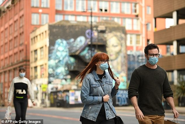 Manchester has been deserted after the Government places it into Tier 2 of coronavirus rules