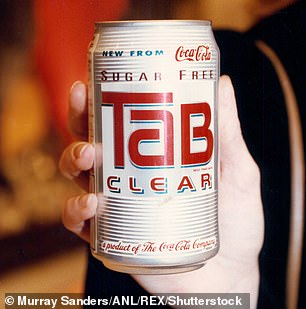 An ad for Tab 'clear'
