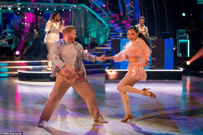 Looking good: Neil Jones and Nanzy Xu - who will not receive a celebrity partner - will also take to the dancefloor together
