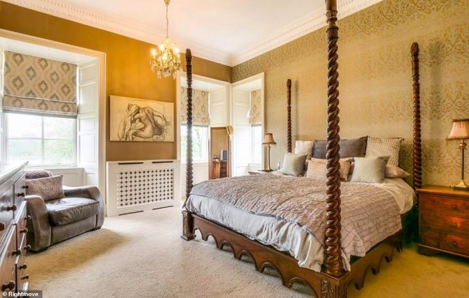 While the property is home to Scotland's oldest original stone keep, dating from the mid-16th Century, and the odd suit of armour, it boasts a range of modern-day features - underfloor heating being one - and it has been 'meticulously refurbished'
