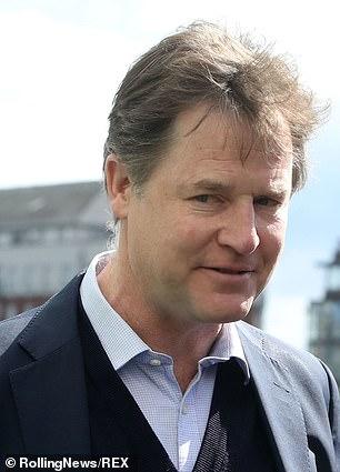 Former Lib Dem leader Nick Clegg is now a senior executive of Facebook