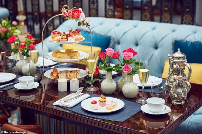 The Lanesborough has teamed up with the Peggy Porschen Bakery to offer a pink-tinged afternoon tea. The bakery has a reputation for creating pretty cakes
