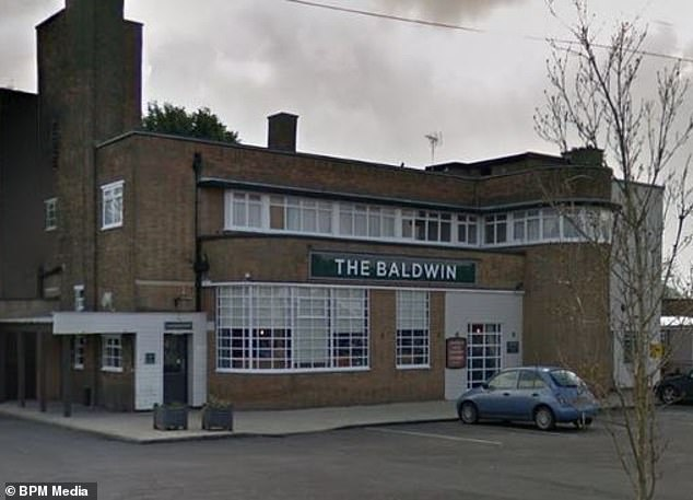 A spokesperson for the Baldwin Arms said although they were aware of the government ruling on large households but said it could 'cause confusion with other guests'