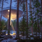 From UFO treehouses to ice hotels – and bone chilling Arctic baths, Sweden's cool all year round!