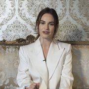Lily James CANCELS Graham Norton interview after she was seen kissing married Dominic West in Rome