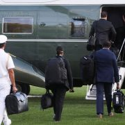 President Trump is airlifted to hospital for COVID treatment with 'nuclear football'