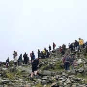 Walker dies after falling 'considerable' distance from a narrow ridge on Snowdon