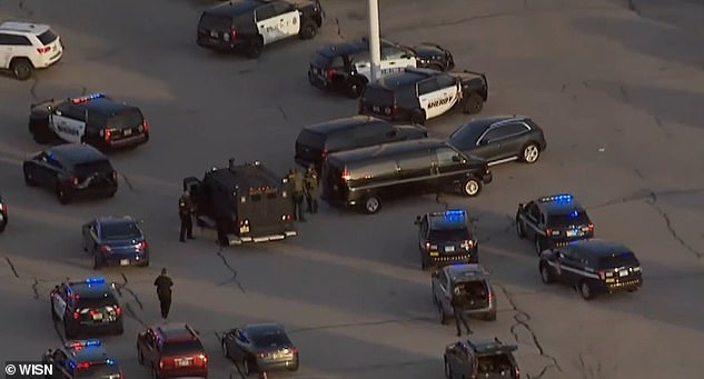 The gunman opened fire at the Mayfair Mall in Wauwatosa, Wisconsin on Friday afternoon