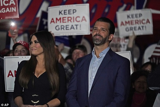 President Donald Trump's oldest son escaped catching the disease when his girlfriend Kimberly Guilfoyle had it over fourth of July
