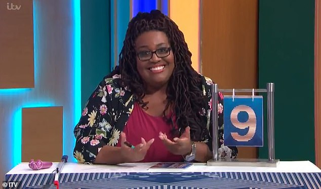 Last-minute: Series reporter Alison Hammond , 45, filled in the fan favourite's shoes on Wednesday's edition (pictured)