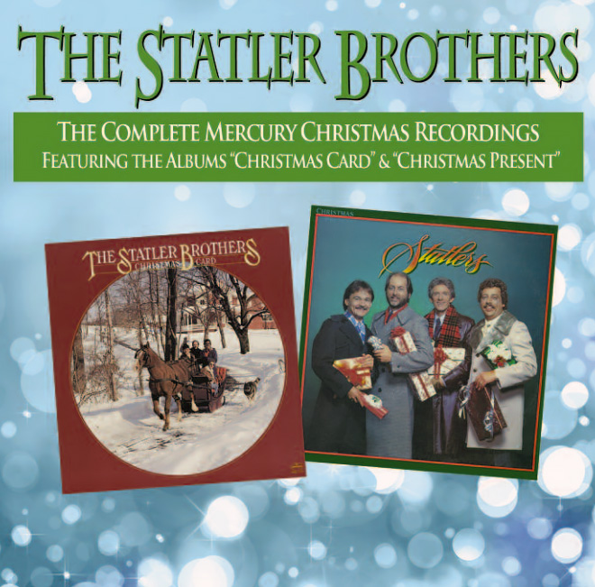 The Statler Brothers CHRISTMAS CARD CHRISTMAS PRESENT CDS
